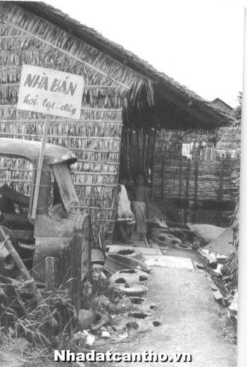 Hình ảnh bán nhà năm 1968 của cần thơ